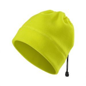 Caciula de fleece fluorescenta - galben 2