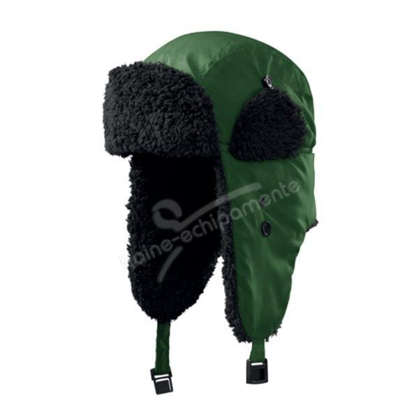 Caciula unisex Furry, culoare verde sticla