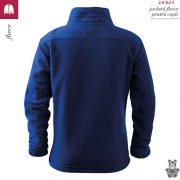 Jacheta albastru regal din fleece pentru copii, Jacket