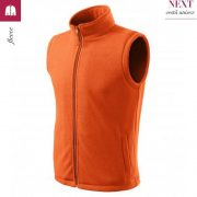 Vesta fleece, unisex, portocaliu, Next