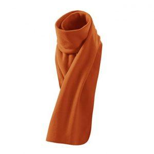 Fular unisex, culoare portocaliu