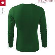 Bluza verde sticla barbati, Fit-t