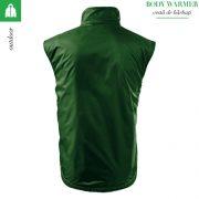 Vesta barbati Body Warmer, verde sticla