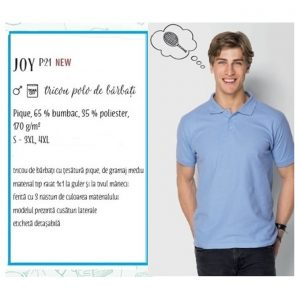 Tricou polo de barbati Piccolio Joy