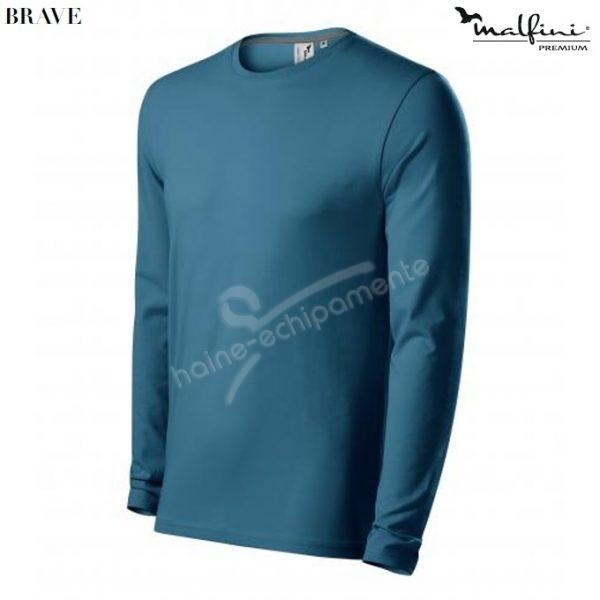 Bluza barbati BRAVE, culoare albastru petrol