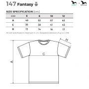 Tabel marimi Tricou de sport copii Fantasy
