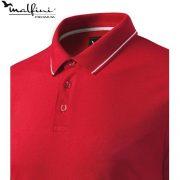 Tricou barbati Perfection Plain, formula red