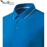 Tricou barbati, Perfection Plain snorkel blue