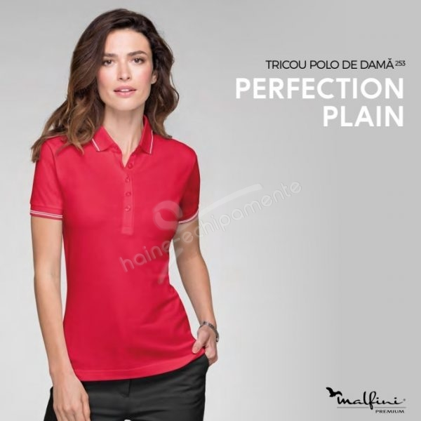 Tricou dama, Perfection Plain