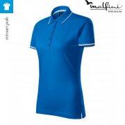 Tricou albastru azuriu de dama, Perfection Plain