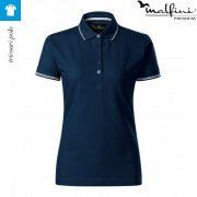 Tricou albastru marin de dama, Perfection Plain