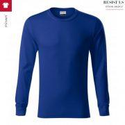 Bluza albastru regal unisex, Resist LS