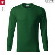 Bluza verde sticla unisex, Resist LS