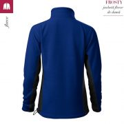 Jacheta fleece dama, albastru regal