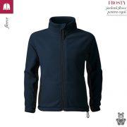 Jacheta fleece pentru copii, albastru marin