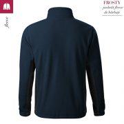 Jacheta albastru marin din fleece pentru barbati, Frosty