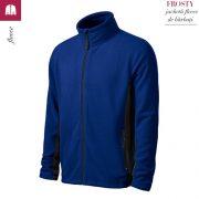 Jacheta albastru regal din fleece pentru barbati, Frosty