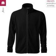 Jacheta neagra din fleece pentru barbati, Frosty