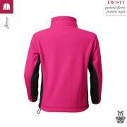 Jacheta fleece pentru copii, purpuriu