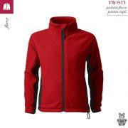Jacheta fleece pentru copii, rosu