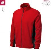 Jacheta, model rosu din fleece pentru barbati, Frosty