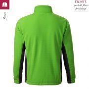 Jacheta verde mar din fleece pentru barbati, Frosty