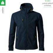 Jacheta bleumarin softshell pentru barbati, Nano