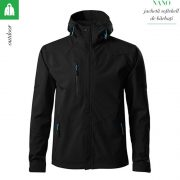 Jacheta, model negru,  softshell pentru barbati, Nano
