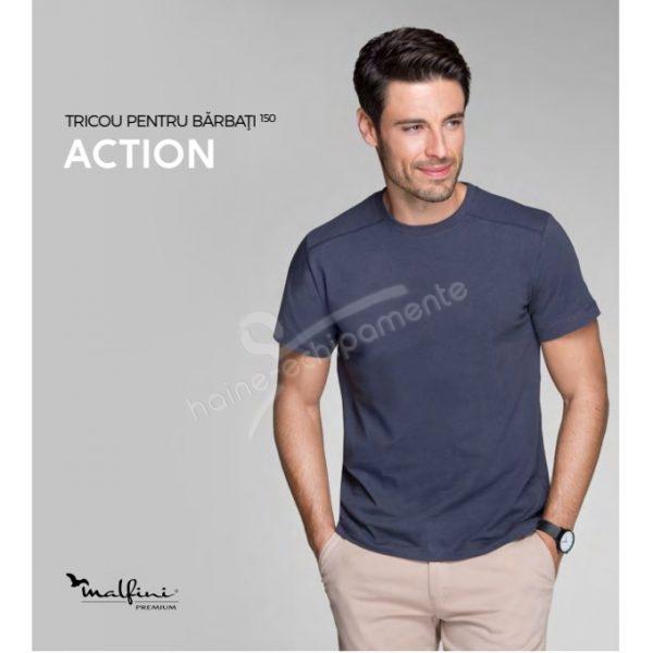 Tricou barbati, Action
