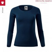 Bluza bleumarin de dama, Fit-T
