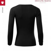 Bluza neagra de dama, Fit-T