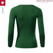 Bluza verde sticla de dama, Fit-T