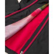 Jacheta dama, din softshell, neagra, Floret