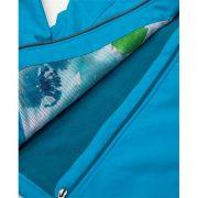 Jacheta dama, din softshell, turcoaz, Floret