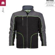Jacheta neagra din fleece, pentru barbati, Michael
