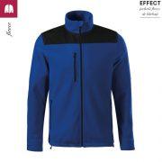 Jacheta albastru regal, din fleece, unisex, Effect
