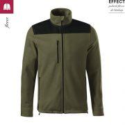 Jacheta military, din fleece, unisex, Effect