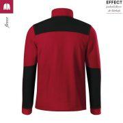 Jacheta rosu marlboro, din fleece, unisex, Effect