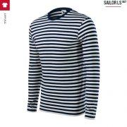 Bluza unisex in culori marinaresti, Sailor